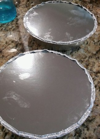 Pies ready for the freezer