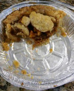eaten apple pie