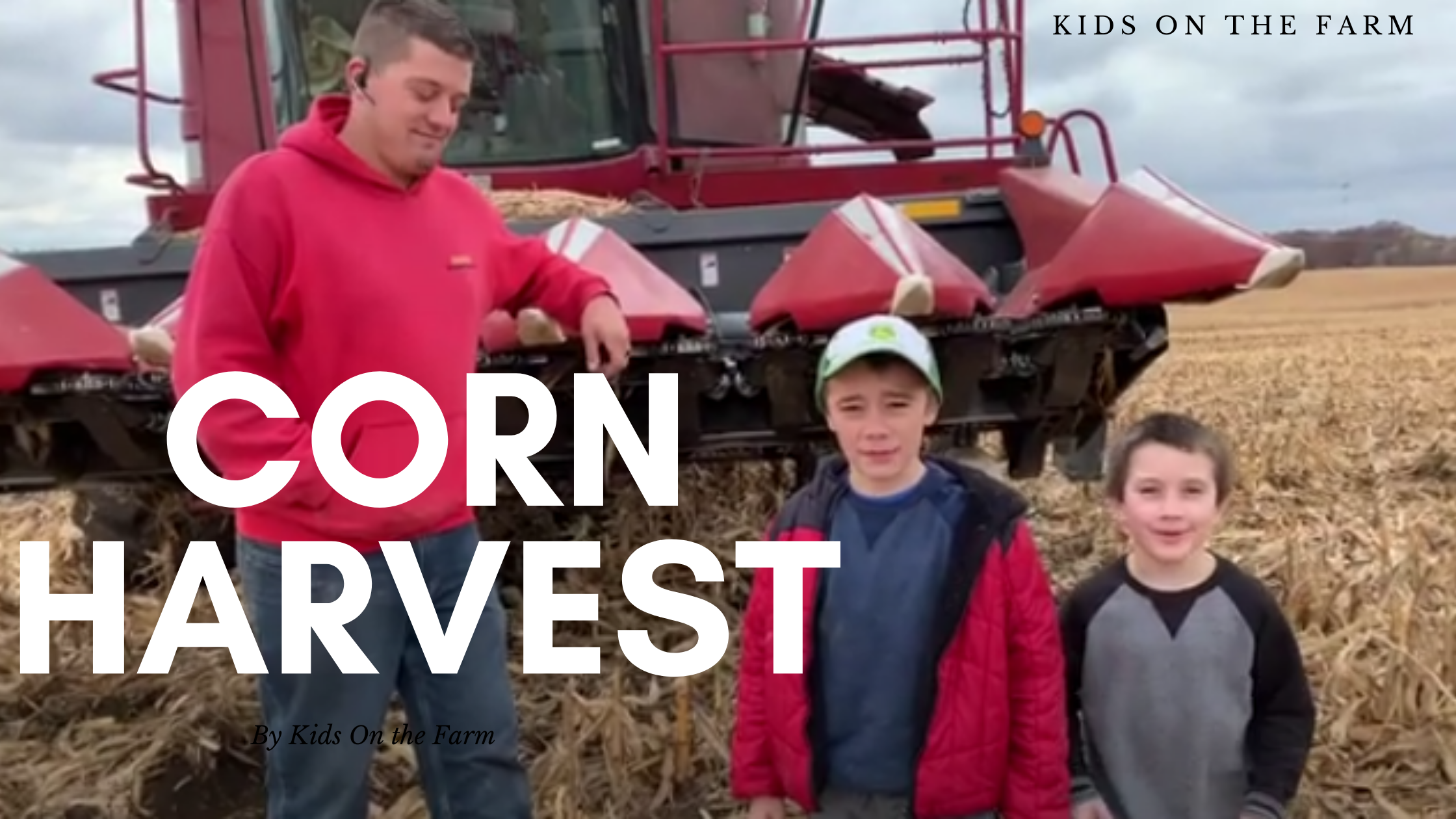 Kids on the Farm Harvest Corn