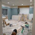 renovation of livingroom